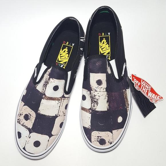 ce9e1a5d Vans Classic Slip On Skate Shoes Mens-9.5 Women-11 NWT